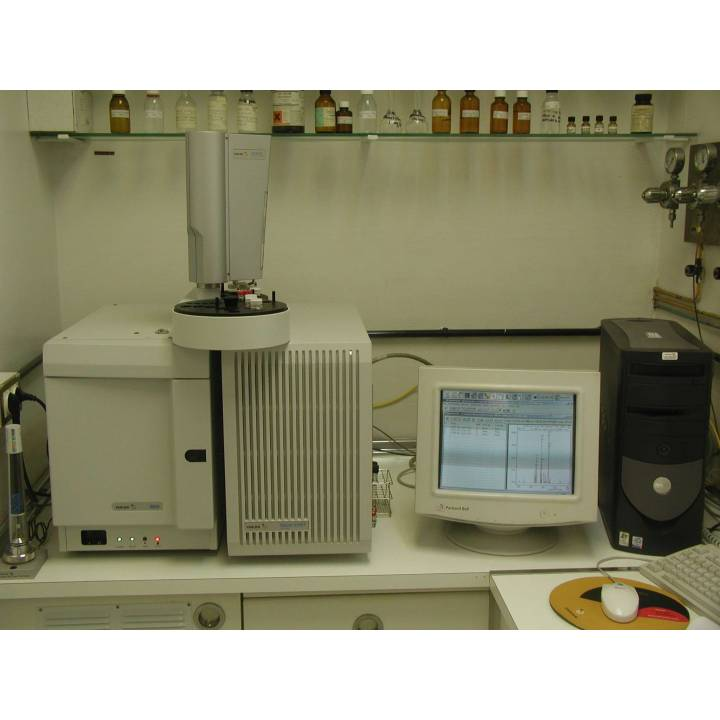 GCMS Varian 3900 GC Saturn 2100T MS