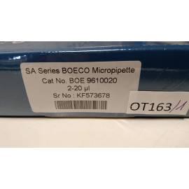 Boeco SA Micropipetas 2-20 µl