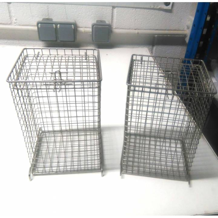 Pack of 2 cages for termodesinfectadora