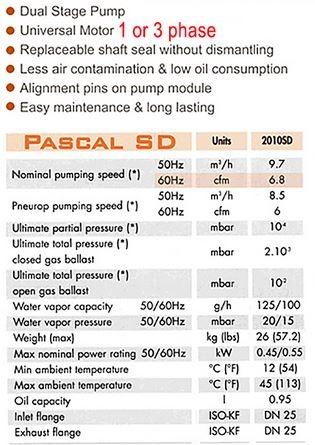 Alcatel Adixen Pascal 2010 SD
