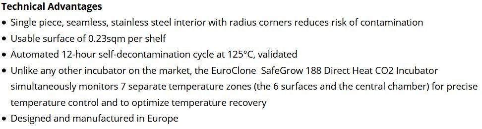 Euroclone Safegrow 188