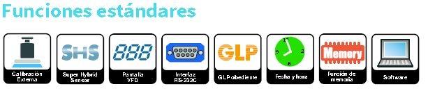 funciones analizador humedad A&D ML-50
